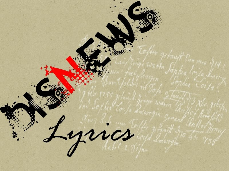 Disnews Lyrics