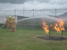 Estrategías en el control de un incendio.