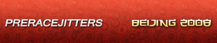 Prerace Jitters
