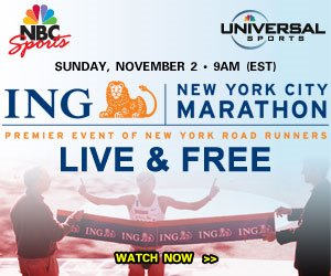 UniversalSports broadcast of the New York Marathon