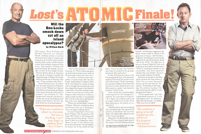 Thanks to Jeffry for the full set of scans Latest TV Guide Scans