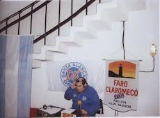 LU3HKA en el Faro Claromecó