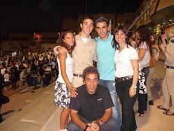 Mi amada familia en Israel