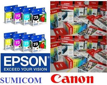 CINTAS Y CARTUCHOS EPSON Y CANON