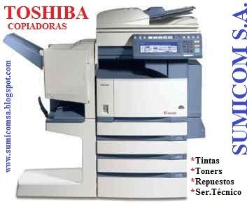 VENTA DE COPIADORAS TOSHIBA