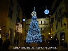 Verona iluminada.