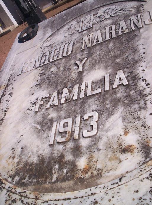 Panteón de la Familia Naranjo