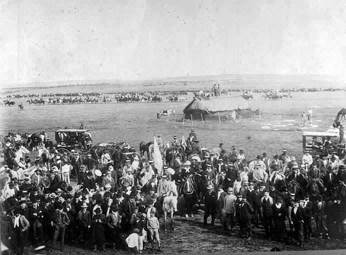 Concentración de las tropas de Aparicio Saravia