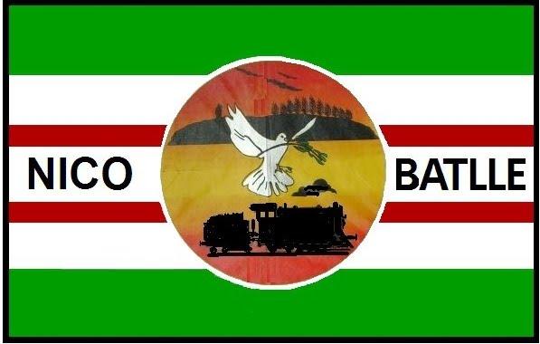 Bandera de Nico Batlle creada por Jean Alvariza