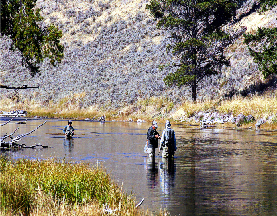 Fly fishing in yellowstone national park a pair to draw to for Yellowstone national park fishing