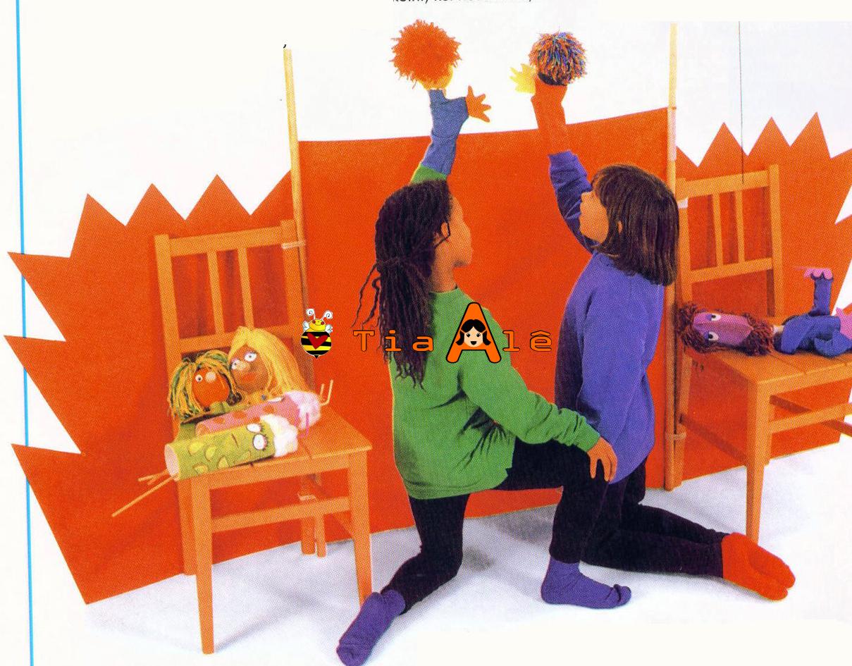 Делаем кукол для кукольного театра своими руками