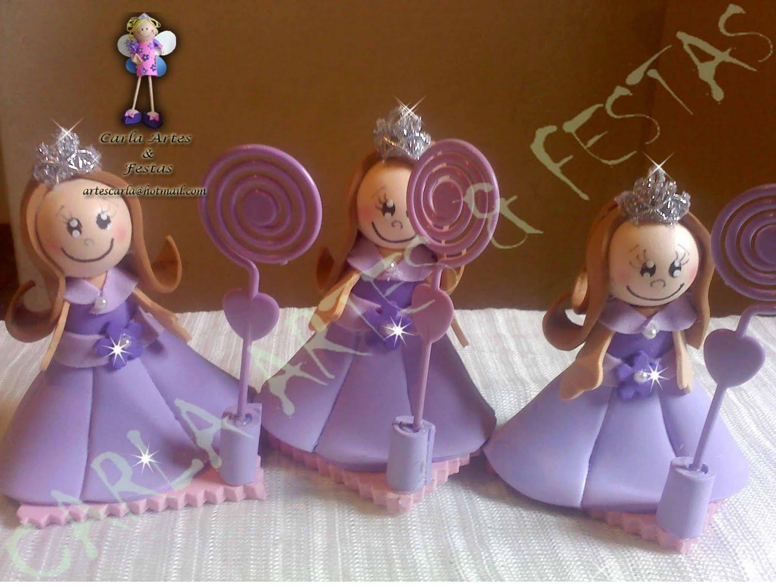 Lembrancinhas AS PRINCESAS   Princesas Laura