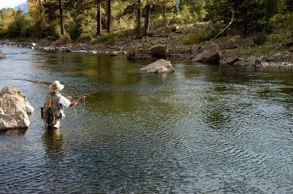 Earth fishing trail running outdoors activities for Arkansas river colorado fishing