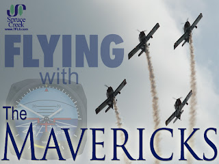 The Spruce Creek Mavericks RV-8 Flying Team