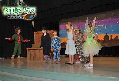 Peter Pan Play by Spruce Creek kids at Cypress Creek Elementary School