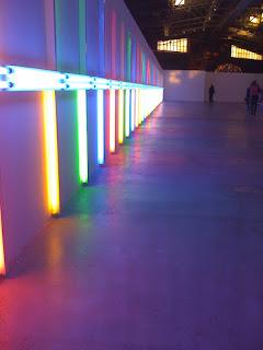 гараж, экспозиция, световой коридор