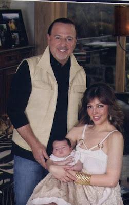 Tommy Mottola con su familia