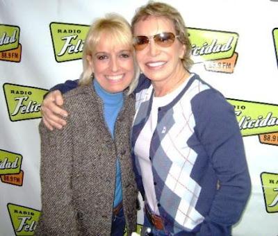 Regina Alcover con Cecilia Bracamonte