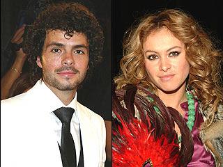 José María Torre con Paulina Rubio
