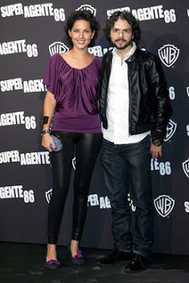 José María Torre junto a Bárbara Mori