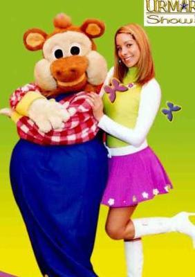Sofía Franco como animadora infantil