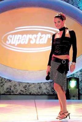 Sofía Franco en el programa SuperStar