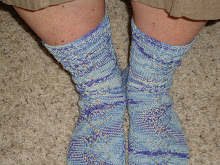 HEART AND POSIE SOCKS