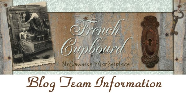 Cupboard Blog Team Info