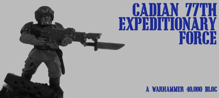 Cadian 77th Expeditionary Force