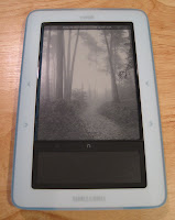 Jilly, my new nook