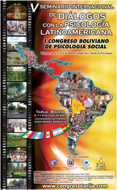 I Congreso Boliviano de Psicología Social  / 2007