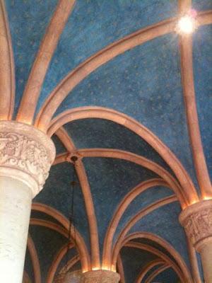 ceiling inside Biltmore Hotel Coral Gables