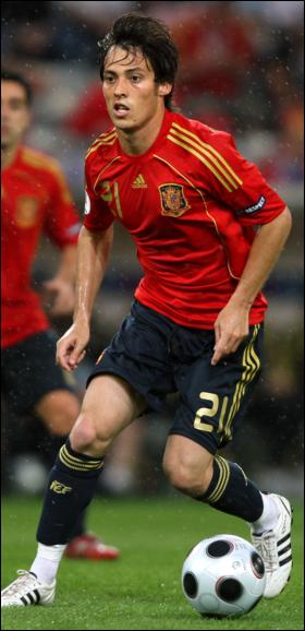 david silva in national team