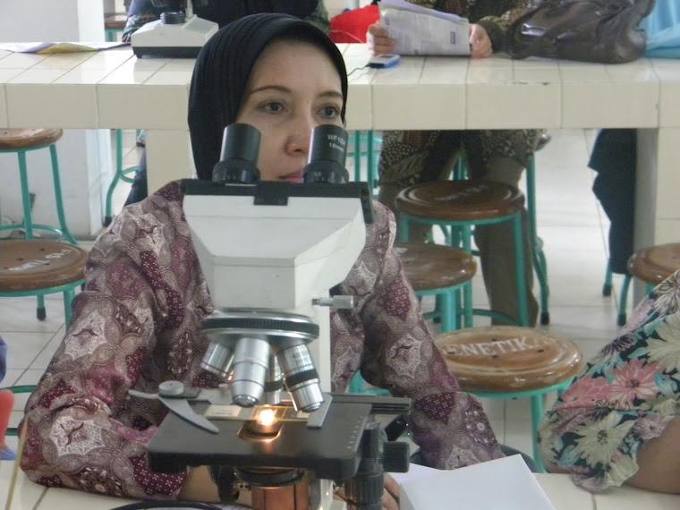 Mikroskopnya bagus Bu