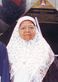 Mak Hajjah Maimunah bt Haji Mohd Kassim
