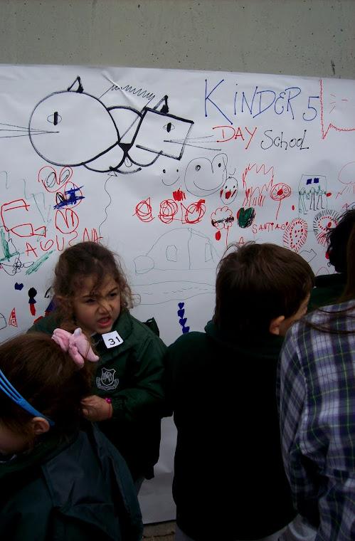 Intervencion junto a niños de kinder.