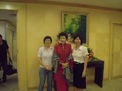 2009年4月17日,和记者访新任旅游部长黄燕燕