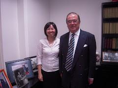 2009年5月22日,和记者访丹斯里拿督曾永森