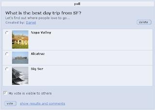 Orkut社区加入民意测验功能