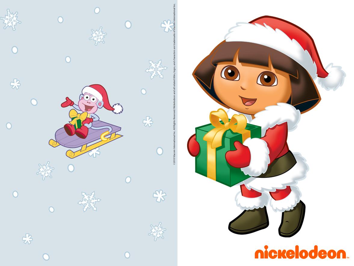 Inolgo - Entretenimiento Infantil: Fondos Navidad Dora la ...