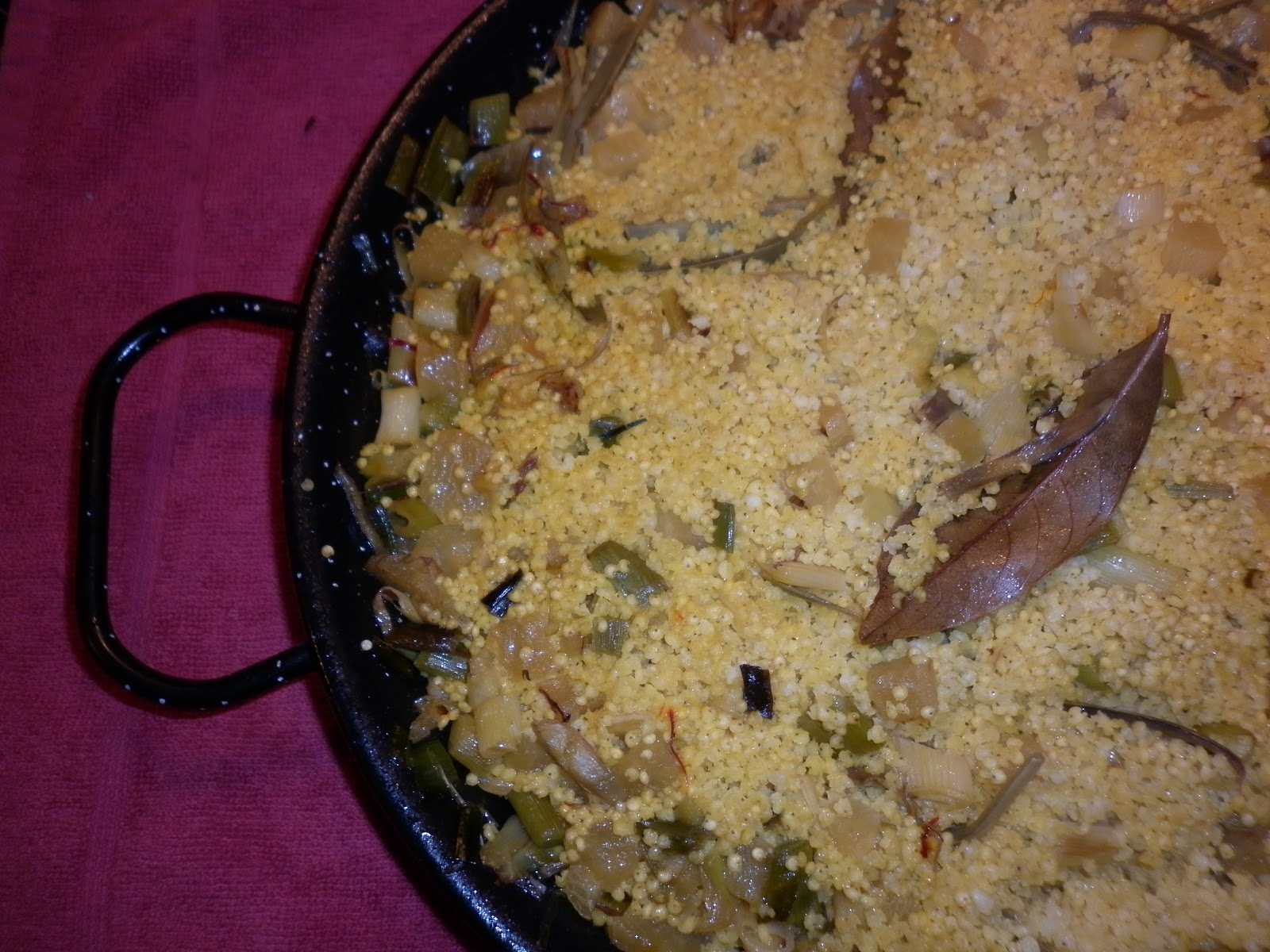 Cocina macrobi tica paella de mijo for Cocina macrobiotica