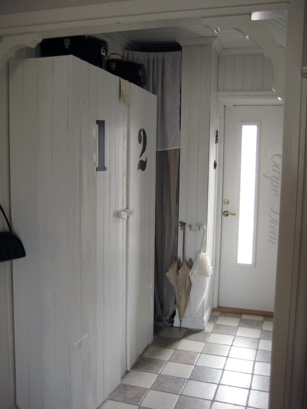 Vintage House: Min nya garderob/ My new wardrobe