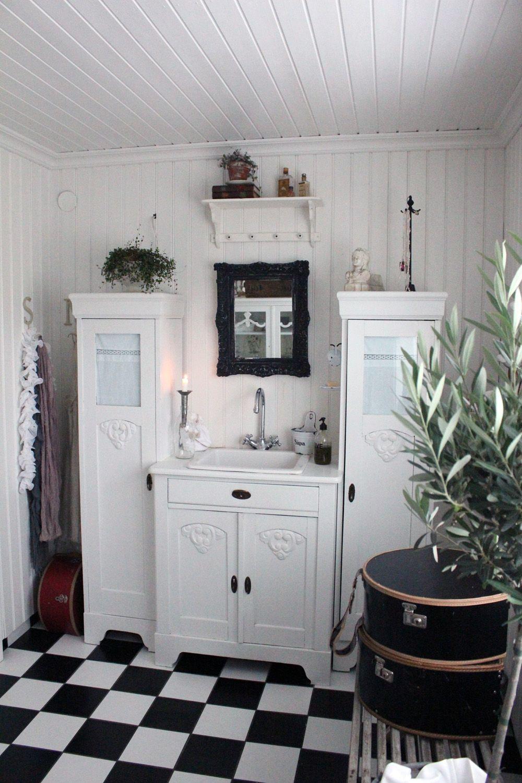 Vintage house v rt badrum i aftonbladets h rliga - Muebles antiguos reciclados ...