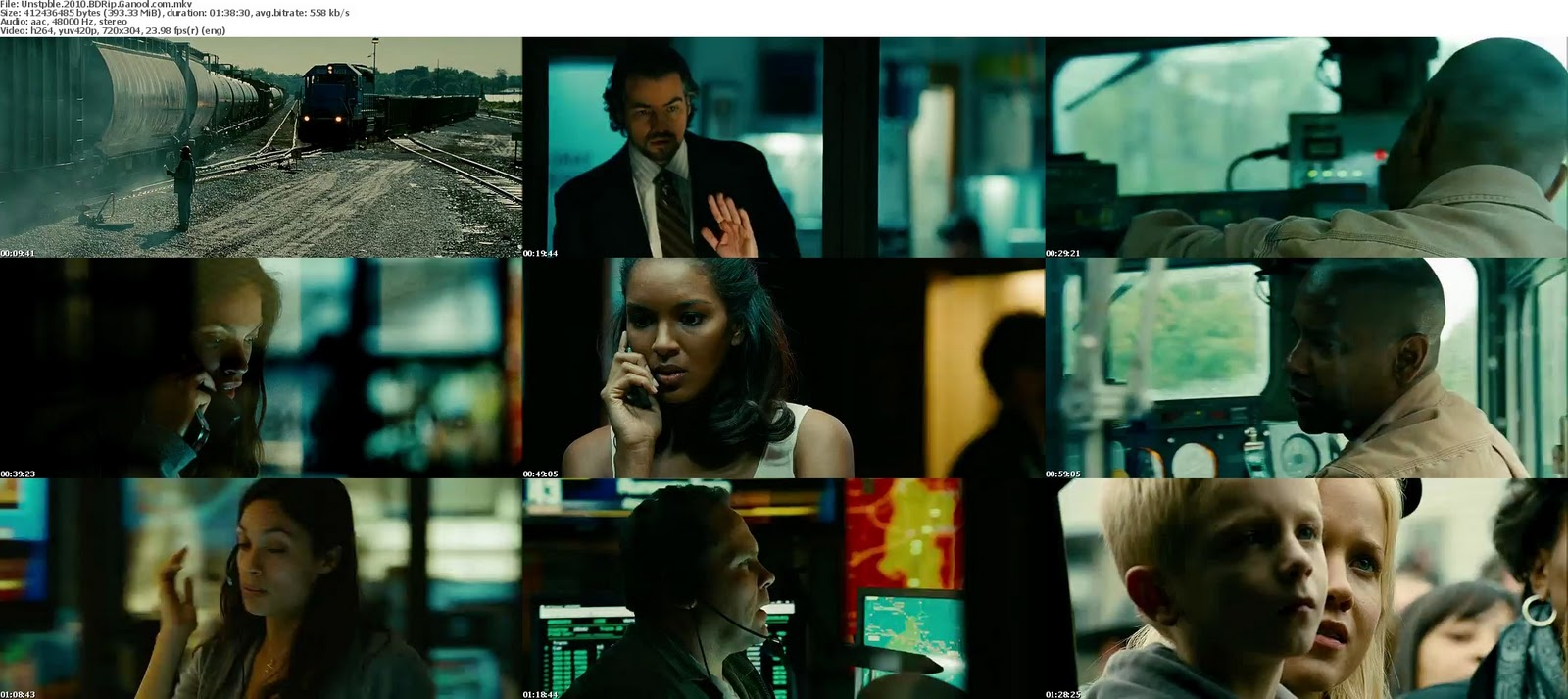 Download Centre: Unstoppable (2010) BDRip