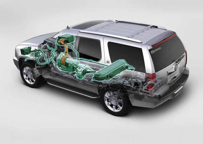 Cadillac Escalade Hybrid, 2009