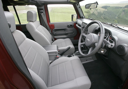 Jeep Wrangler Unlimited UK Version, 2008. The new Jeep Wrangler range surprised drivers and off-road enthusiasts when it launched in 2007.