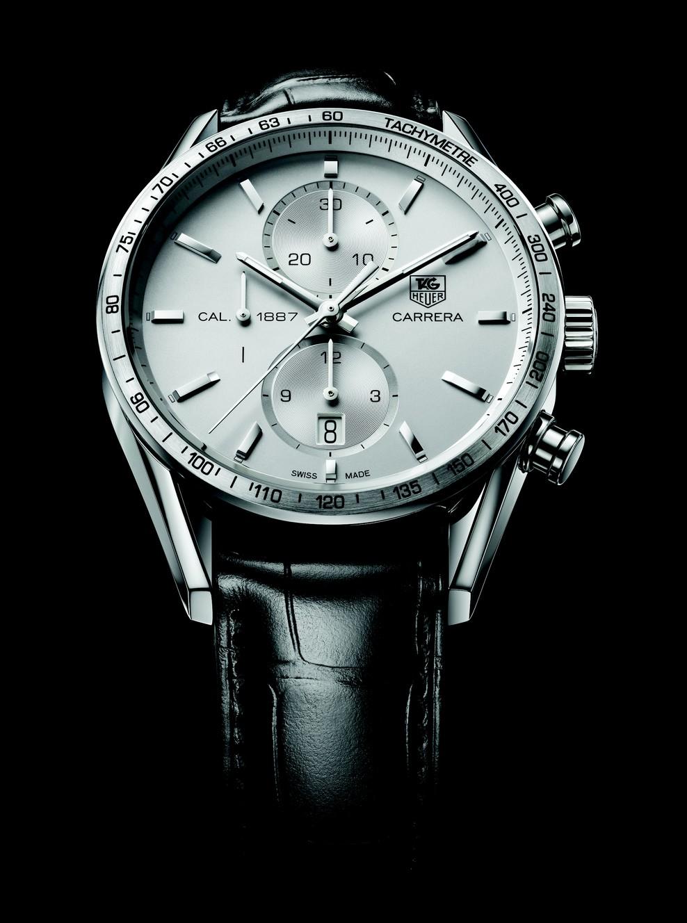 j 39 aime les montres la montre du jour tag heuer carrera calibre 1887 chronographe. Black Bedroom Furniture Sets. Home Design Ideas