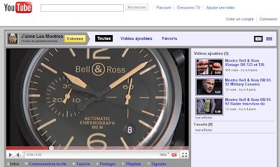 Le blog J'aime Les Montres est sur YouTube. Découvrez mes vidéos horlogères préférées