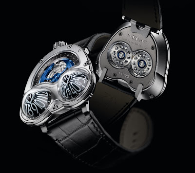 Montre Maximilian Büsser & Friends Horological Machine No3 Frog titane - HM3