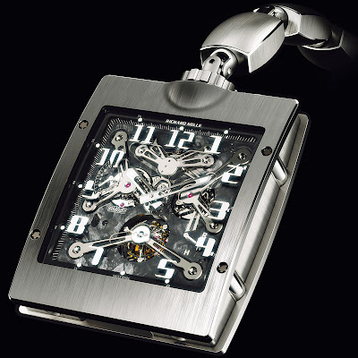 Richard Mille Montre de poche Tourbillon RM 020
